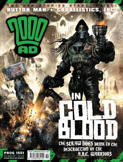Cover for 2000 AD (Rebellion, 2001 series) #1551