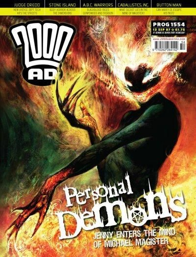 Cover for 2000 AD (Rebellion, 2001 series) #1554