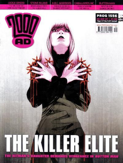 Cover for 2000 AD (Rebellion, 2001 series) #1556