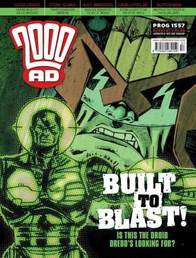 Cover for 2000 AD (Rebellion, 2001 series) #1557