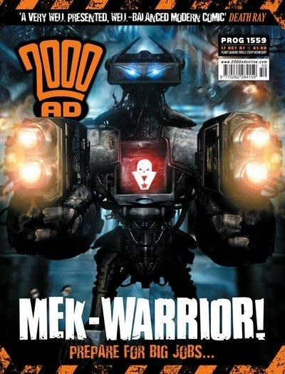 Cover for 2000 AD (Rebellion, 2001 series) #1559