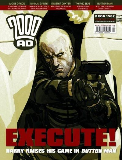 Cover for 2000 AD (Rebellion, 2001 series) #1562