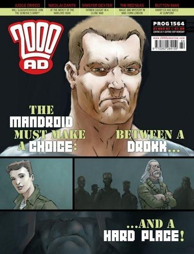 Cover for 2000 AD (Rebellion, 2001 series) #1564