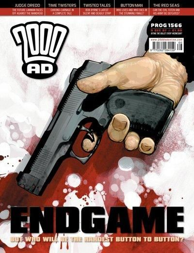 Cover for 2000 AD (Rebellion, 2001 series) #1566