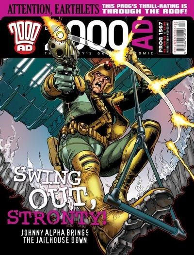 Cover for 2000 AD (Rebellion, 2001 series) #1567
