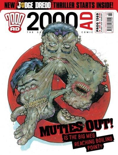 Cover for 2000 AD (Rebellion, 2001 series) #1569