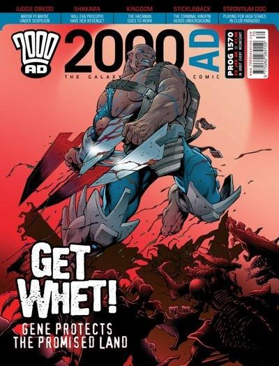 Cover for 2000 AD (Rebellion, 2001 series) #1570