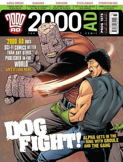 Cover for 2000 AD (Rebellion, 2001 series) #1573