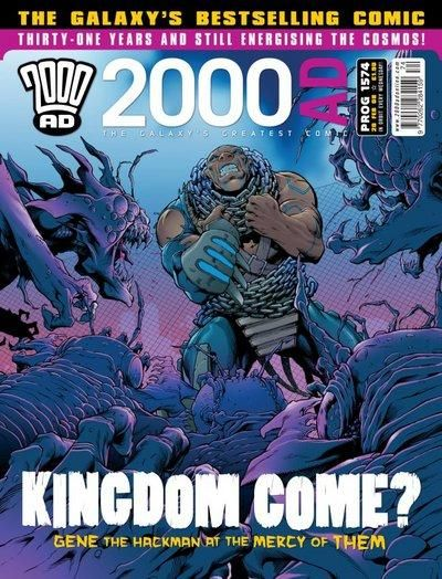 Cover for 2000 AD (Rebellion, 2001 series) #1574