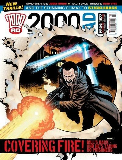 Cover for 2000 AD (Rebellion, 2001 series) #1577
