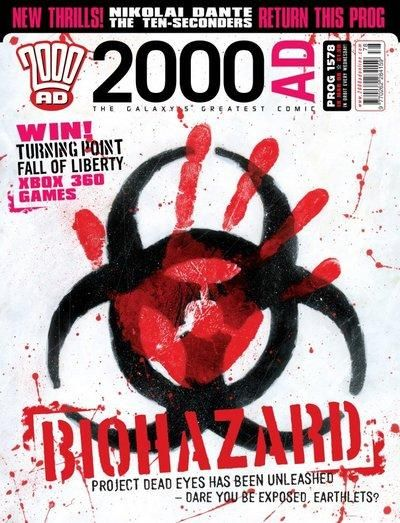 Cover for 2000 AD (Rebellion, 2001 series) #1578