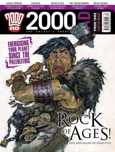 Cover for 2000 AD (Rebellion, 2001 series) #1583