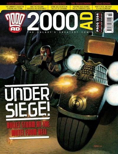 Cover for 2000 AD (Rebellion, 2001 series) #1584