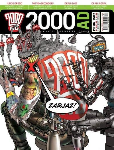 Cover for 2000 AD (Rebellion, 2001 series) #1587