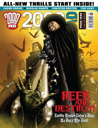 Cover for 2000 AD (Rebellion, 2001 series) #1589