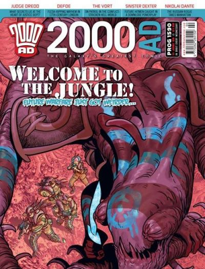 Cover for 2000 AD (Rebellion, 2001 series) #1590