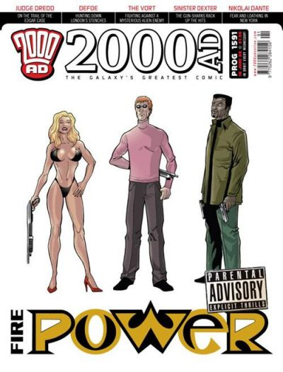 Cover for 2000 AD (Rebellion, 2001 series) #1591