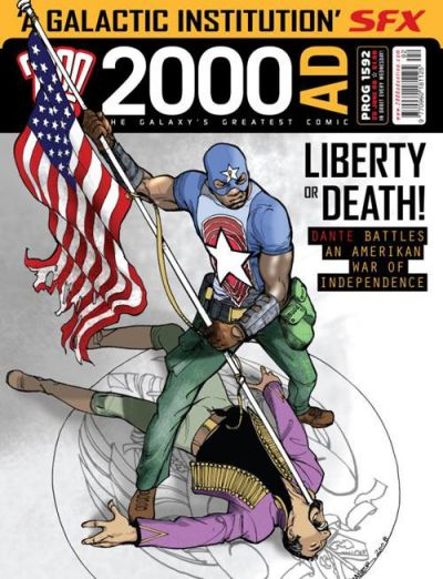 Cover for 2000 AD (Rebellion, 2001 series) #1592