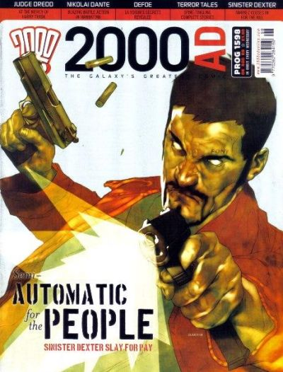 Cover for 2000 AD (Rebellion, 2001 series) #1598