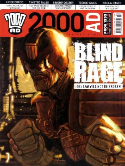Cover for 2000 AD (Rebellion, 2001 series) #1599