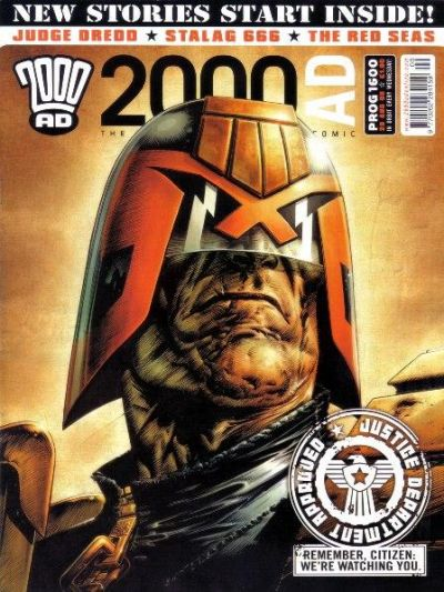 Cover for 2000 AD (Rebellion, 2001 series) #1600
