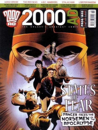 Cover for 2000 AD (Rebellion, 2001 series) #1602