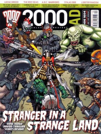 Cover for 2000 AD (Rebellion, 2001 series) #1604