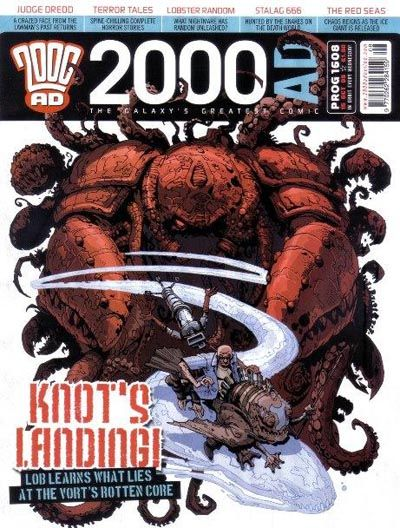 Cover for 2000 AD (Rebellion, 2001 series) #1608