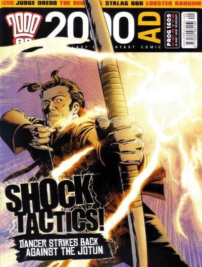 Cover for 2000 AD (Rebellion, 2001 series) #1609