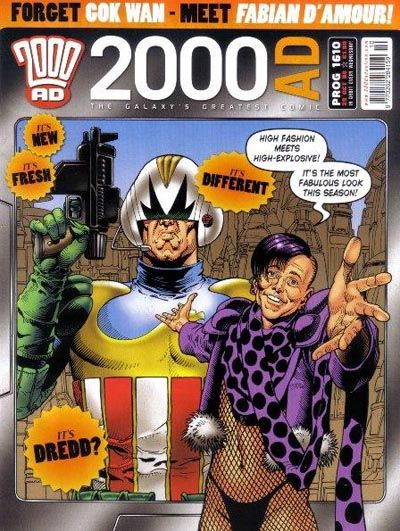 Cover for 2000 AD (Rebellion, 2001 series) #1610