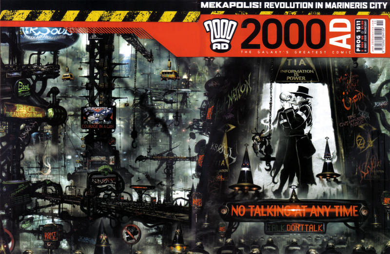 Cover for 2000 AD (Rebellion, 2001 series) #1611