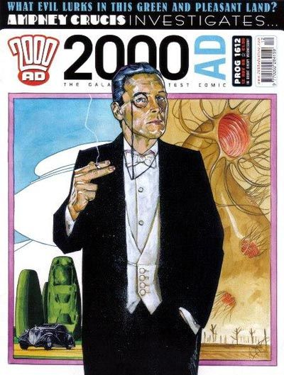 Cover for 2000 AD (Rebellion, 2001 series) #1612