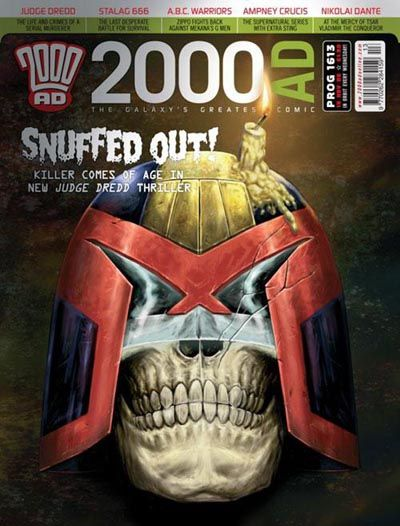 Cover for 2000 AD (Rebellion, 2001 series) #1613
