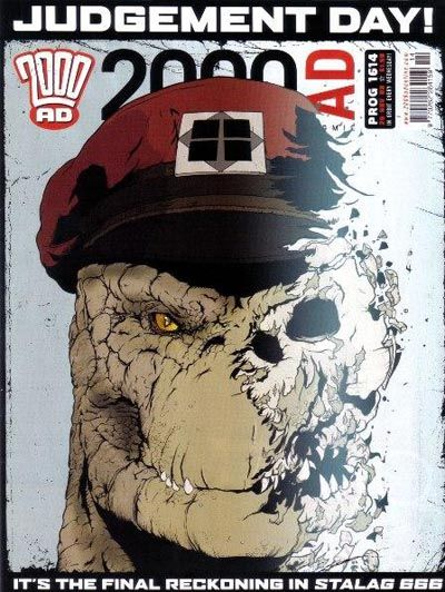 Cover for 2000 AD (Rebellion, 2001 series) #1614