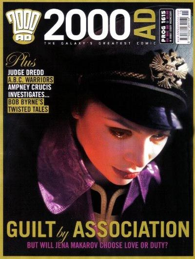 Cover for 2000 AD (Rebellion, 2001 series) #1615
