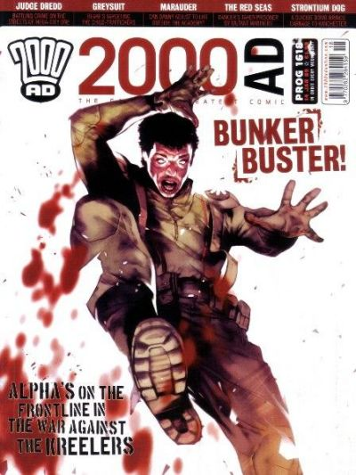 Cover for 2000 AD (Rebellion, 2001 series) #1618