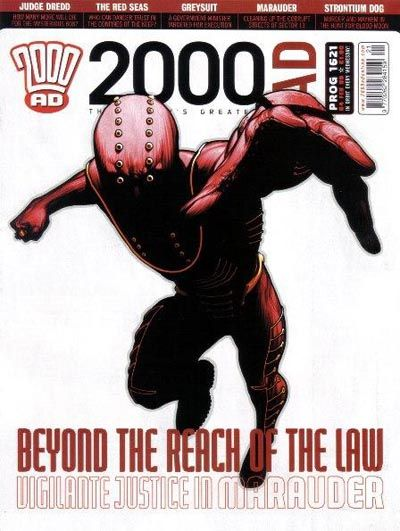 Cover for 2000 AD (Rebellion, 2001 series) #1621