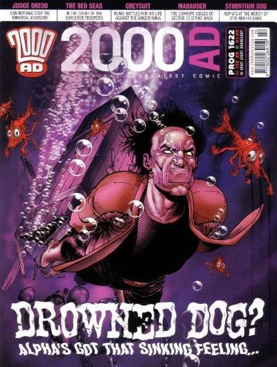 Cover for 2000 AD (Rebellion, 2001 series) #1622