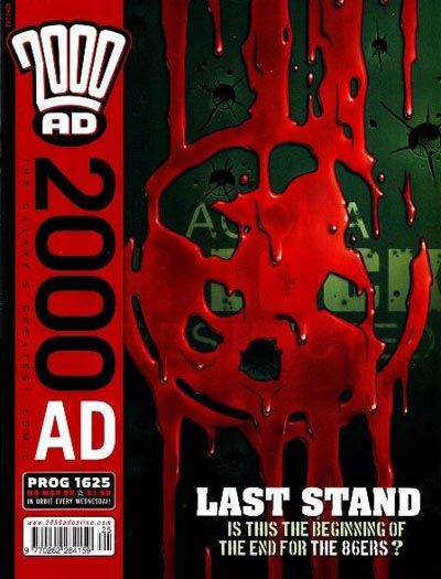 Cover for 2000 AD (Rebellion, 2001 series) #1625