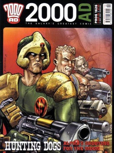 Cover for 2000 AD (Rebellion, 2001 series) #1626