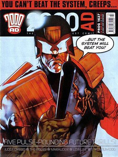 Cover for 2000 AD (Rebellion, 2001 series) #1627