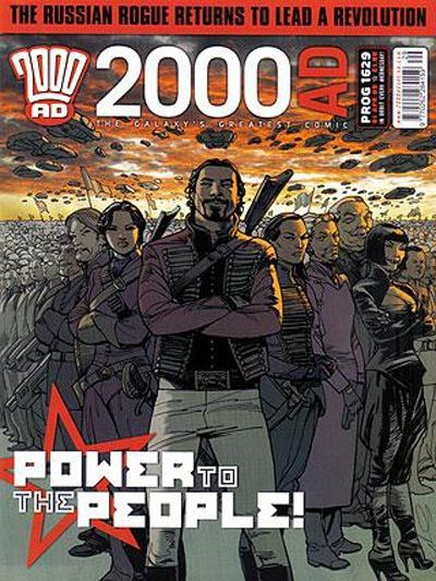 Cover for 2000 AD (Rebellion, 2001 series) #1629