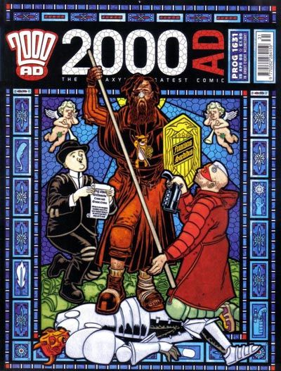 Cover for 2000 AD (Rebellion, 2001 series) #1631