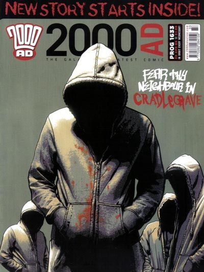 Cover for 2000 AD (Rebellion, 2001 series) #1633
