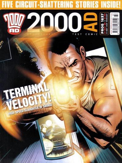 Cover for 2000 AD (Rebellion, 2001 series) #1637