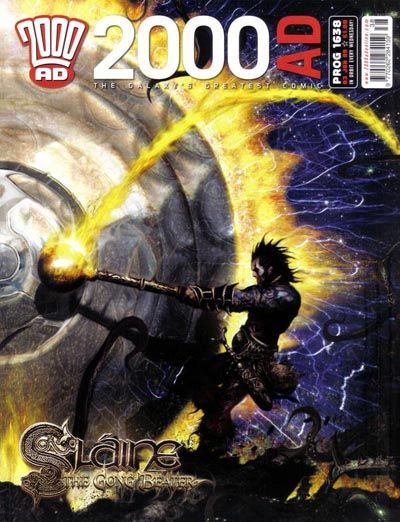 Cover for 2000 AD (Rebellion, 2001 series) #1638