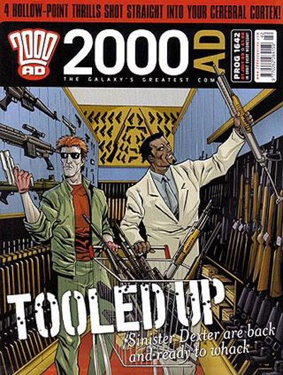 Cover for 2000 AD (Rebellion, 2001 series) #1642