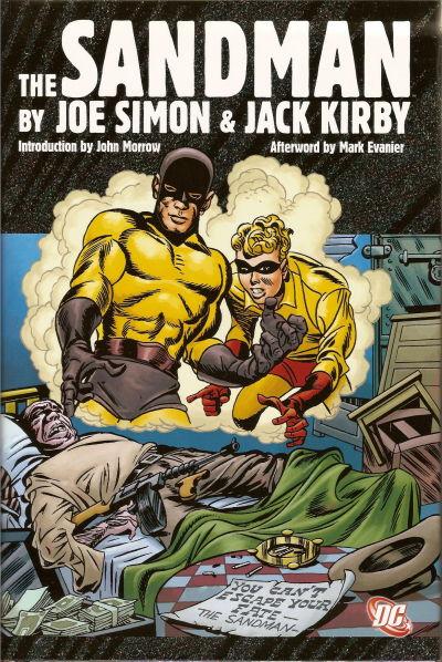 Cover for The Sandman by Joe Simon & Jack Kirby (DC, 2009 series)