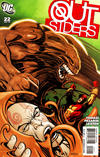 Cover for The Outsiders (DC, 2009 series) #22 [Direct Sales]