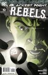 Cover for R.E.B.E.L.S. (DC, 2009 series) #10